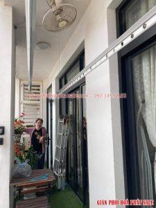Sửa giàn phơi quần áo tại Thanh Xuân nhà cô Tươi, Royal City - 02