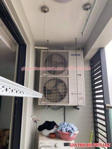 Sửa giàn phơi Hòa Phát tại Thanh Xuân nhà chị Nhài, ngõ 300 Nguyễn Xiển - 05