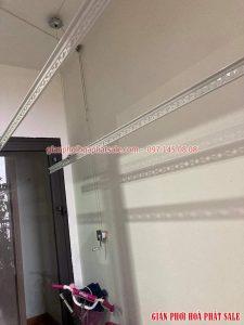 Sửa giàn phơi Cầu Giấy giá rẻ, thay dây cáp giàn phơi ở chung cư Sky Park - 03