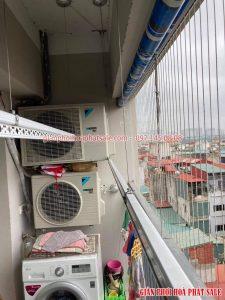 Sửa giàn phơi Từ Liêm: thay dây giàn phơi tại Goldmark City nhà chị Oanh - 06