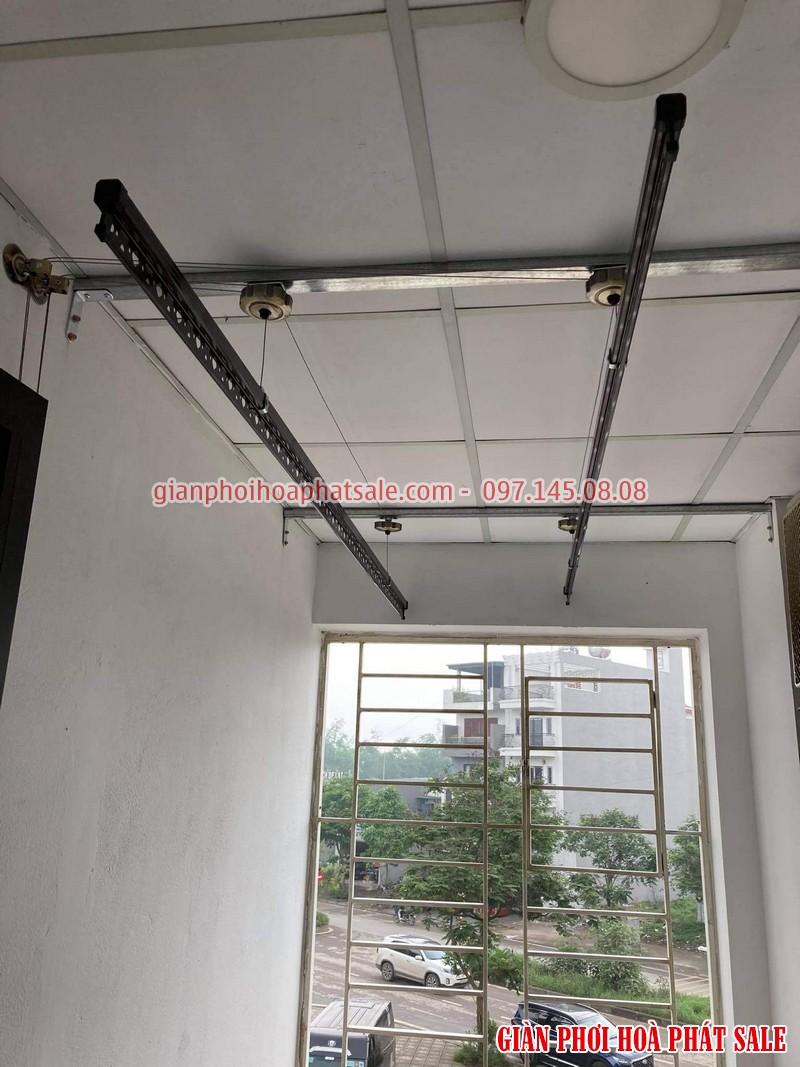 Lắp giàn phơi thông minh Long Biên tại chung cư Ruby 2 bộ Hòa Phát HP300 - 01