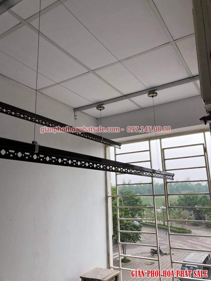 Lắp giàn phơi thông minh Long Biên tại chung cư Ruby 2 bộ Hòa Phát HP300 - 03