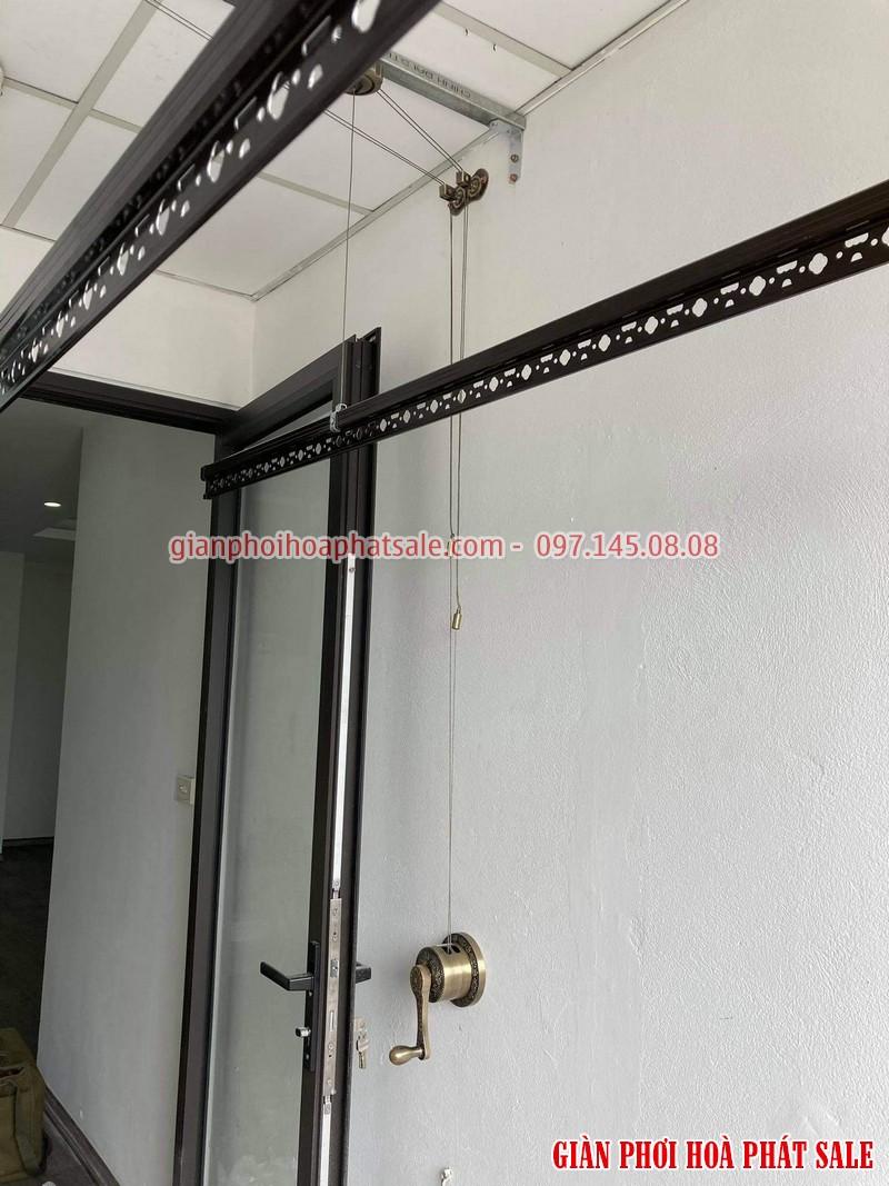 Lắp giàn phơi thông minh Long Biên tại chung cư Ruby 2 bộ Hòa Phát HP300 - 04