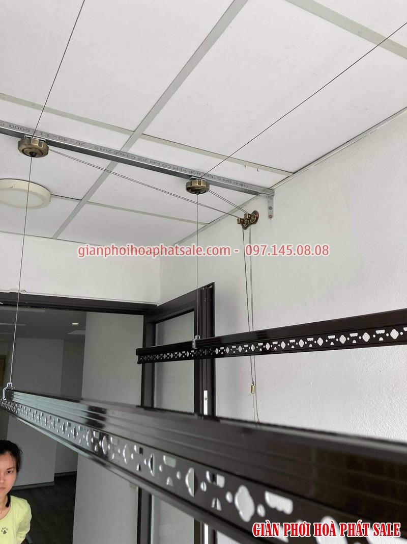 Lắp giàn phơi thông minh Long Biên tại chung cư Ruby 2 bộ Hòa Phát HP300 - 05