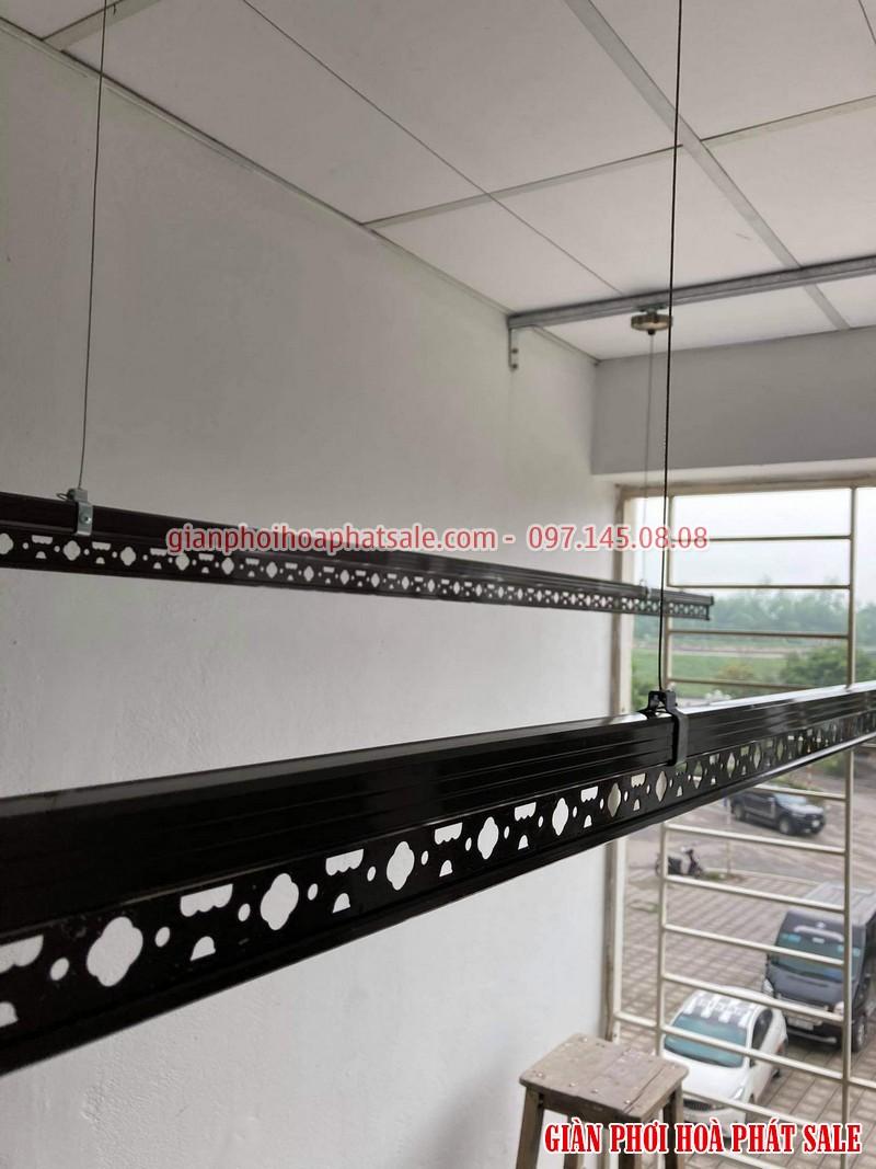 Lắp giàn phơi thông minh Long Biên tại chung cư Ruby 2 bộ Hòa Phát HP300 - 07