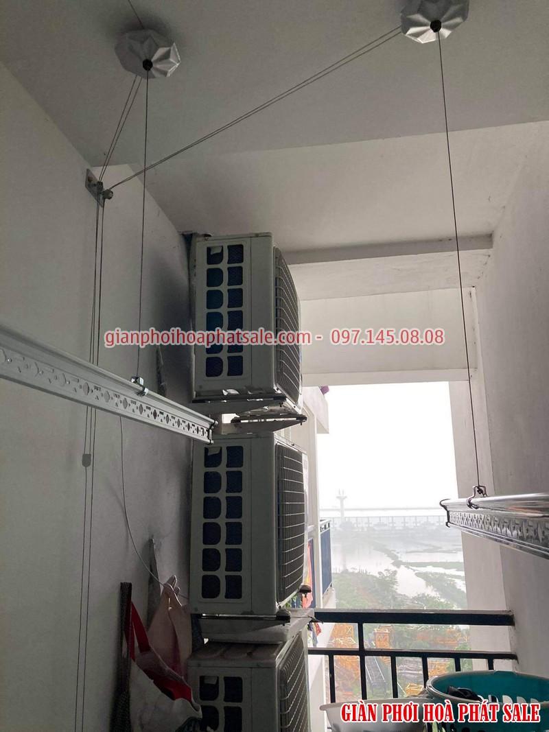 Lắp giàn phơi thông minh Bắc Từ Liêm tại chung cư An Bình City - 03