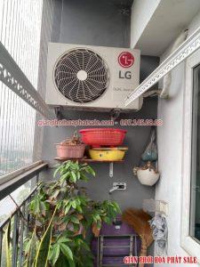 Lắp giàn phơi Hoàng Mai giá rẻ tại chung cư Đại Kim Building - 05