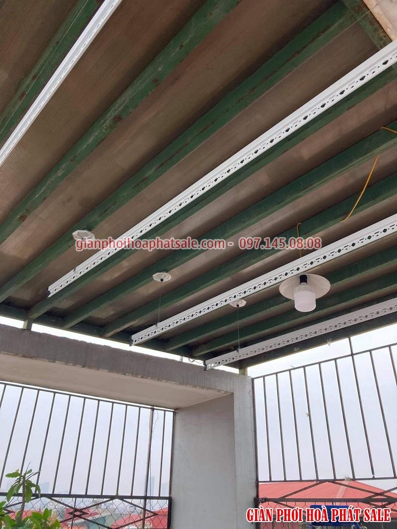 Lắp giàn phơi thông minh Hà Đông - 2 bộ Hòa Phát HP701 tại nhà anh Kiên, ngõ 793 Quang Trung - 01