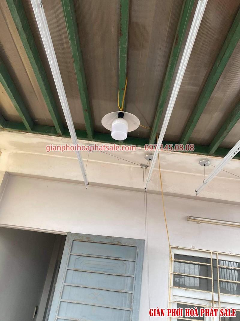 Lắp giàn phơi thông minh Hà Đông - 2 bộ Hòa Phát HP701 tại nhà anh Kiên, ngõ 793 Quang Trung - 03