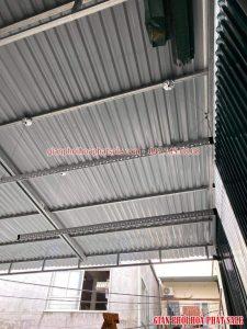Lắp giàn phơi trần mái tôn trực tiếp free hoàn toàn, không phát sinh thêm chi phí