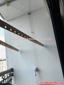 Sửa giàn phơi Hòa Phát tại Royal City nhà anh Định - 01
