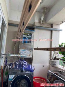 Thay linh kiện giàn phơi thông minh tại Long Biên nhà chị Ngọc- 06
