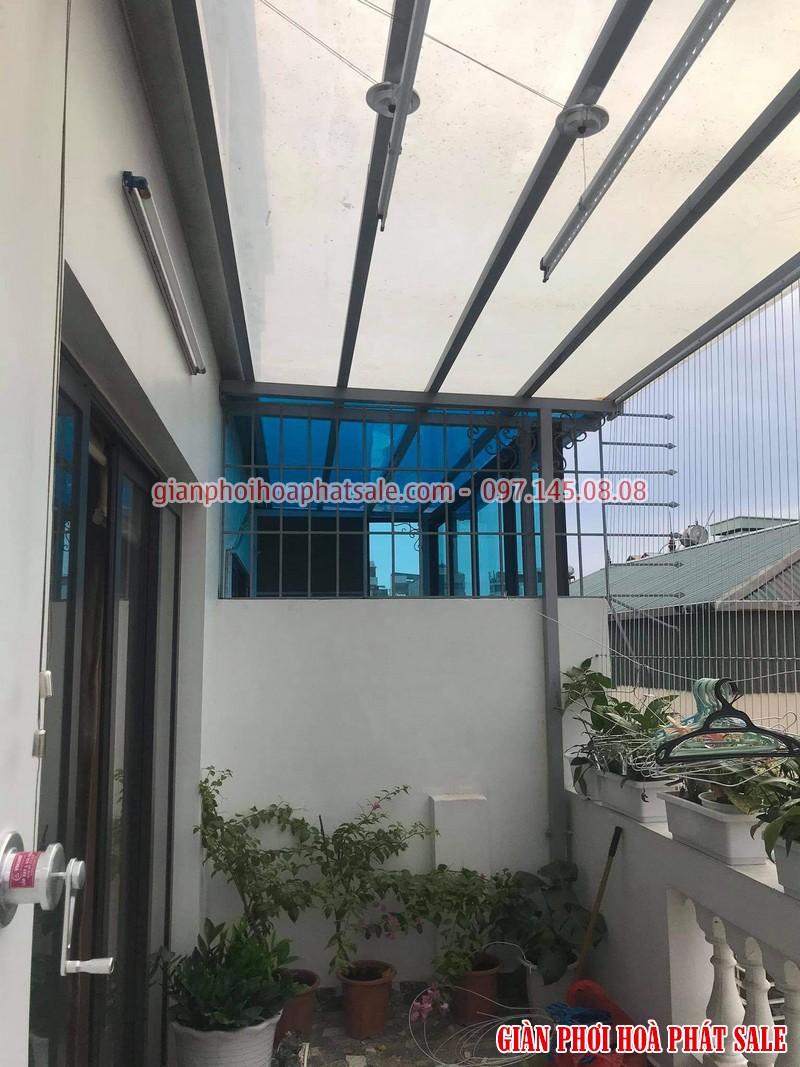 Diện mạo giàn phơi Hòa Phát HP701 lắp tại Hà Đông