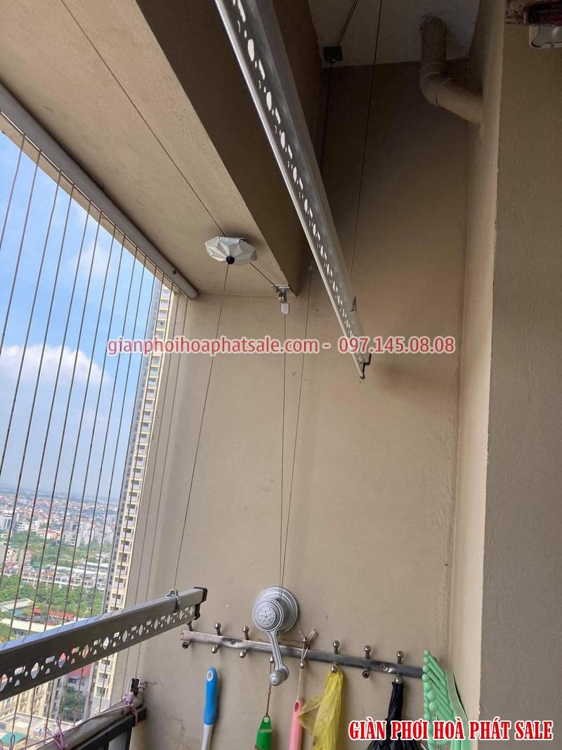 Lắp giàn phơi Hòa Phát KS950 tại IEC Thanh Trì