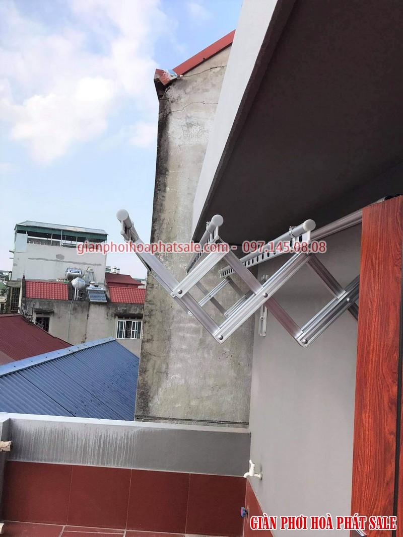 giàn phơi xếp tường độ bền cao, dễ dàng sử dụng