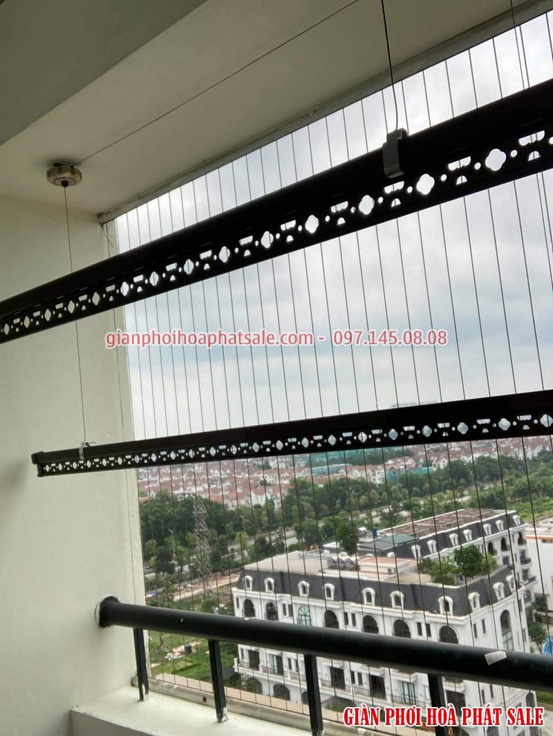 Lắp giàn phơi cho chung cư IEC Tứ Hiệp miễn phí 100% công lắp đặt