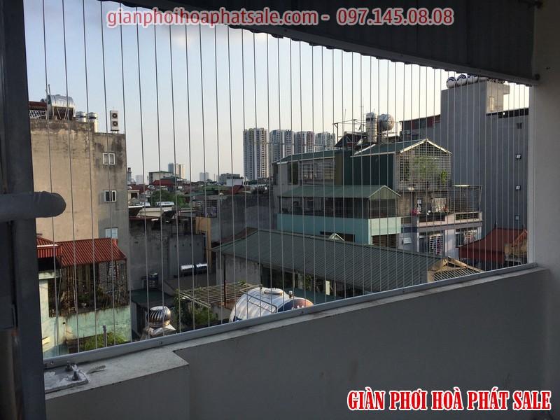 Lắp giàn phơi gắn tường Hòa Phát được giảm ngay 30% giá tiền lưới an toàn bảo vệ ban công