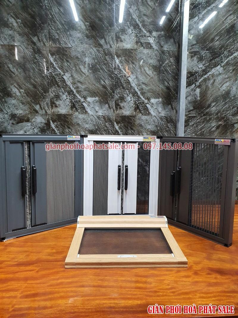 Cửa chống muối tự cuốn - mẫu được đặt nằm trên sàn